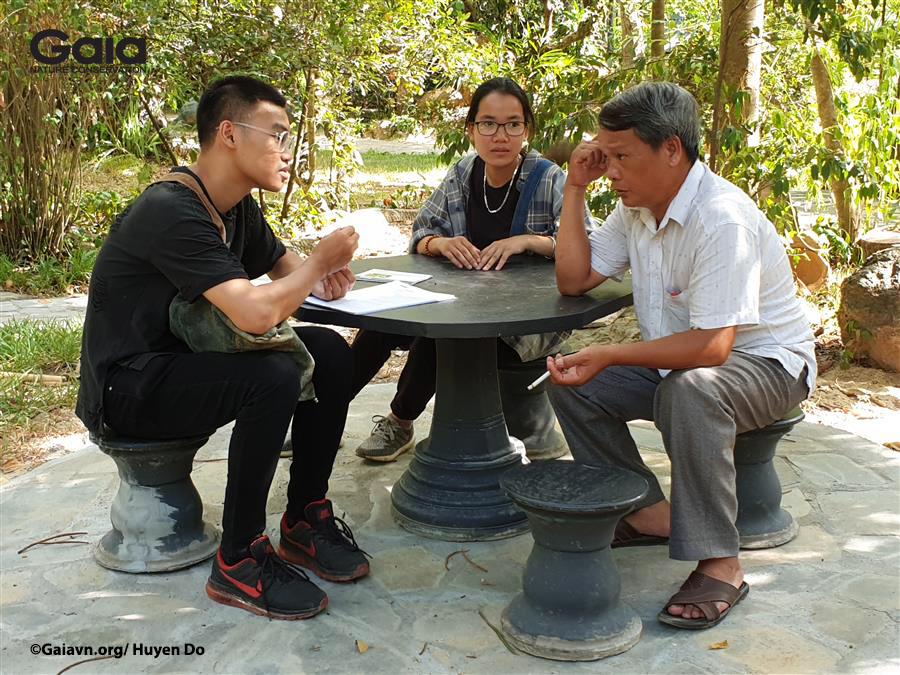 Thực hành phỏng vấn người dân